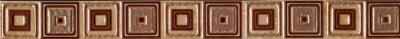 Бордюр для ванной НЗКМ Глория 2 Квадрат (40x400, кремовый)