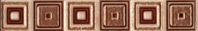 Бордюр НЗКМ Глория 3 Квадрат (40x250, кремовый)