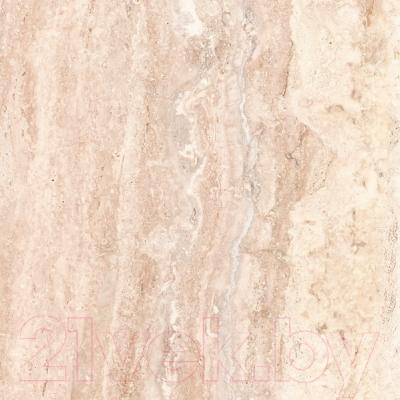 Плитка для пола ванной НЗКМ Травертин (300x300, кремовый)