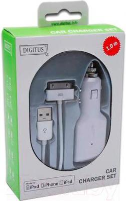 Автомобильное зарядное устройство Digitus DB-600900-010-W
