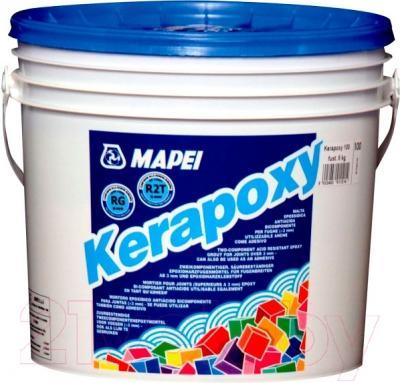 Фуга для плитки Mapei Kerapoxy N113 (5кг, цементно-серый)