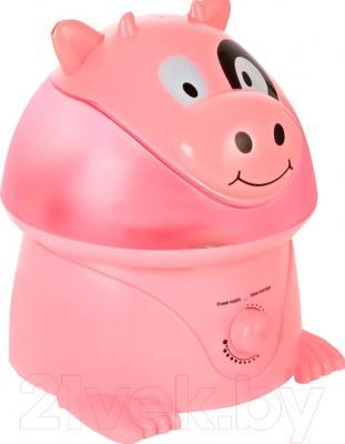 Ультразвуковой увлажнитель воздуха Humidifier HM-038CA (розовая коровка)