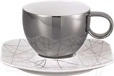 Чашка с блюдцем Rosenthal Free Spirit/Stars (фарфор)