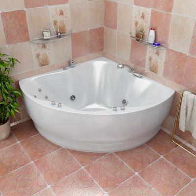 Ванна акриловая Triton Лилия 150x150 - в интерьере