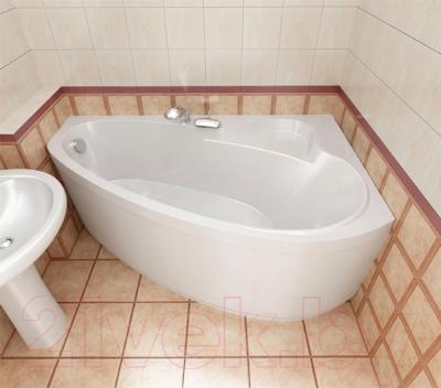 Ванна акриловая Triton Пеарл-Шелл 160x104 L