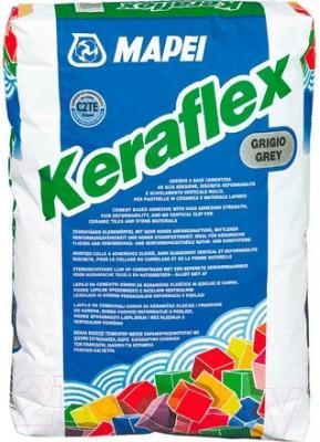 Клей для плитки Mapei Keraflex Grey (25кг, серый)
