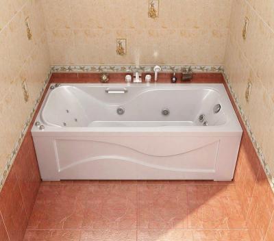 Экран для ванны Triton Джулия 160 - в интерьере