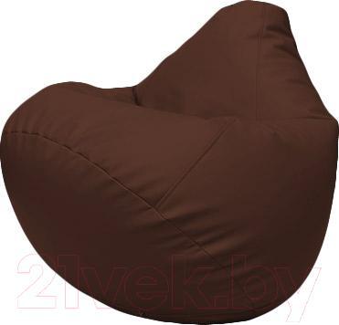 Бескаркасное кресло Flagman Груша Макси Г2.3-26 (шоколад)