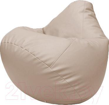 Бескаркасное кресло Flagman Груша Макси Г2.3-12 (кремовый)