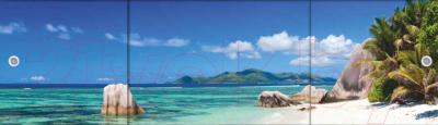 Экран для ванны МетаКам Премиум Арт 1.68 (пляж)