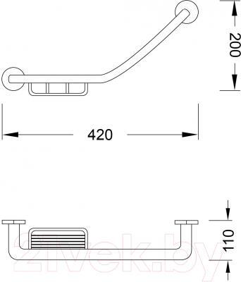 Поручень для ванны Steinberg Series 650.2640