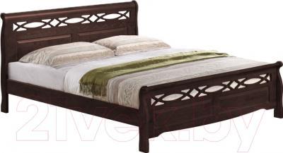 Кровать Eurotrend 0.9-966-WSR-BW (дуб)