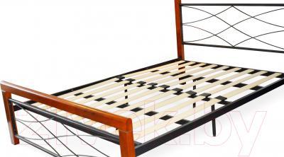 Кровать Eurotrend 1.4-338W-RB-NS-KD (металл)