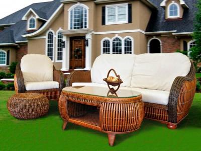 Кресло садовое Домовой 5059B-1 (без матраса) - пример комплекта
