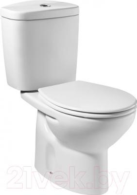 Сиденье для унитаза Roca Victoria ZRU8013920 (белый) - вместе с унитазом