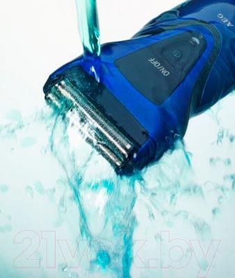 Электробритва AEG HR 5627 (черно-синий)