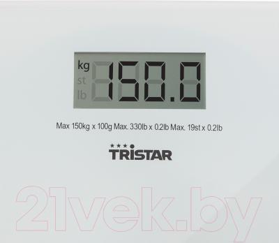 Напольные весы электронные Tristar WG-2419 - большой дисплей