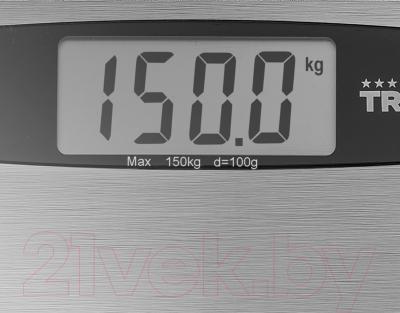 Напольные весы электронные Tristar WG-2423 - большой дисплей
