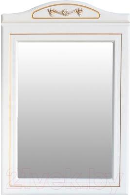 Зеркало для ванной Atoll Полини 65 (патина золото)