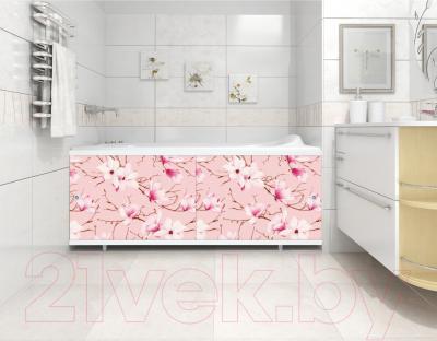 Экран для ванны МетаКам Кварт 1.68 (опал) - вместе с ванной