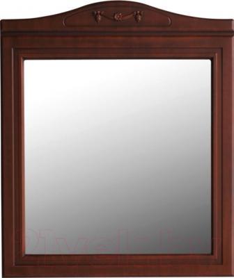 Зеркало для ванной Atoll Полини 85 (патина Луизиана)