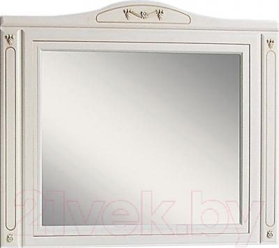 Зеркало для ванной Atoll Полини 120 (патина золото)