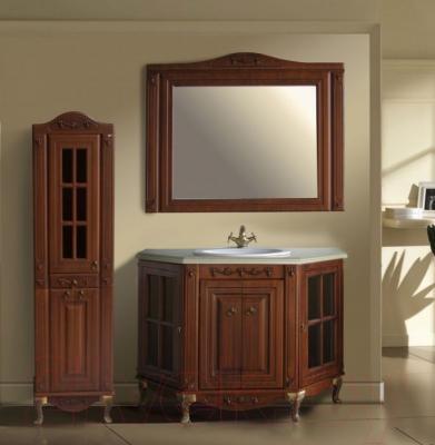 Зеркало для ванной Atoll Полини 120 (патина Луизиана) - в интерьере