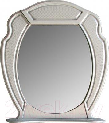 Зеркало для ванной Atoll Тулуза 1 (патина серебро)