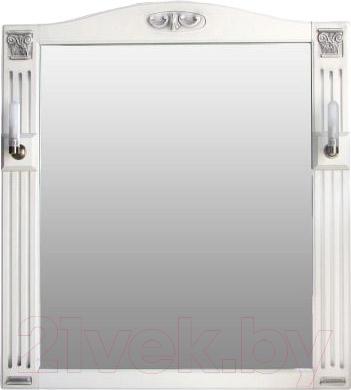 Зеркало для ванной Atoll Венеция (белый)