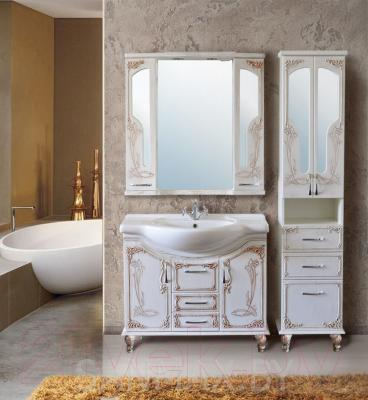 Шкаф для ванной Atoll Барселона (патина медь)