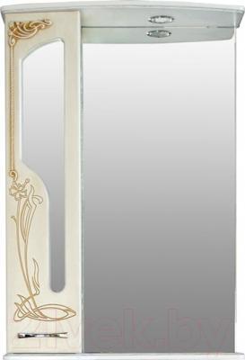 Шкаф с зеркалом для ванной Atoll Барселона 175 (патина медь)