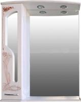 Шкаф с зеркалом для ванной Atoll Барселона 185 (патина медь) -