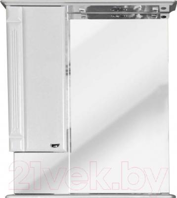 Шкаф с зеркалом для ванной Atoll Ливерпуль 175 (белый)