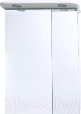 Шкаф с зеркалом для ванной Atoll Монреаль 1Н