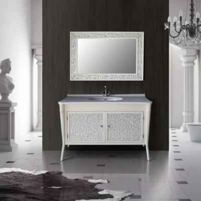 Зеркало для ванной Atoll Валенсия 130 (серебро)