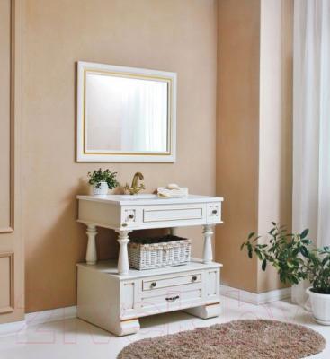 Зеркало для ванной Atoll Джулия 95 (золото)