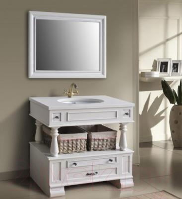 Зеркало для ванной Atoll Джулия 95 (серебро)