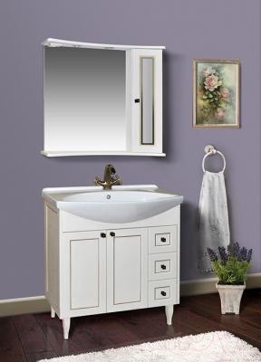 Зеркало для ванной Atoll Палермо 185 (золото)
