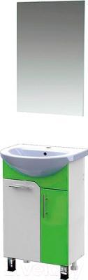Зеркало для ванной Triton Эко 55 - в комплекте с тумбой