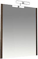 Зеркало для ванной Triton Эко-Wood 60 со светильником (006.42.0600.001.01.01.U) -