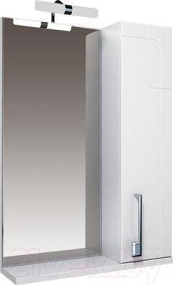 Шкаф с зеркалом для ванной Triton Диана 55 (правый)