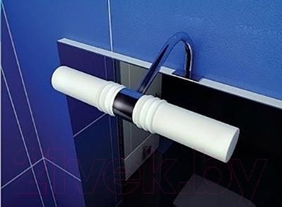 Шкаф с зеркалом для ванной Triton Диана 55 (правый) - подсветка