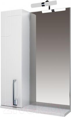 Шкаф с зеркалом для ванной Triton Диана 80 (левый)