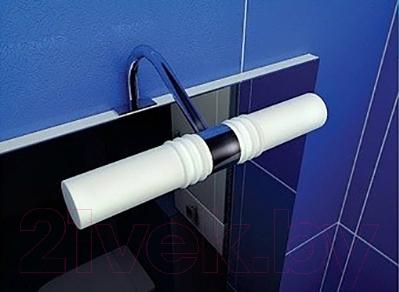 Шкаф с зеркалом для ванной Triton Диана 80 (левый) - подсветка