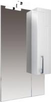 Шкаф с зеркалом для ванной Triton Диана 60 (удлиненный правый) -
