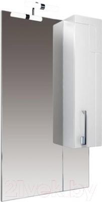 Шкаф с зеркалом для ванной Triton Диана 60 (удлиненный правый)