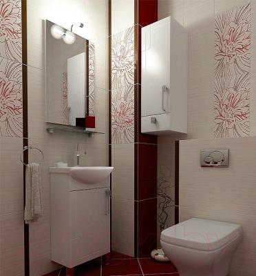 Зеркало для ванной Triton Диана 55 - в интерьере