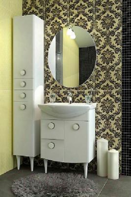 Зеркало для ванной Triton Лира 60 (007.42.0600.001.01.01.U) - в интерьере
