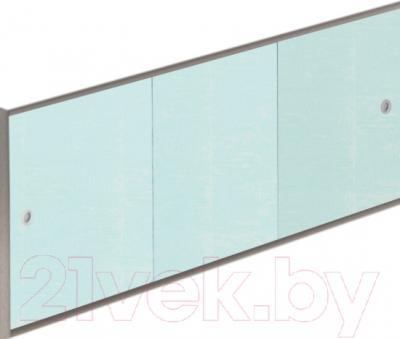 Экран для ванны МетаКам Премиум А 1.68 (голубая роза)