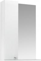 Шкаф с зеркалом для ванной Triton Локо 55 (левый, белый) -